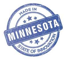 MN Manufacturing Made in MN Logo